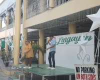 Friday flag lowering ceremony by the municipal employees of Lingayen December 13, 2019