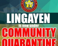 Lingayen is under COMMUNITY QUARANTINE
