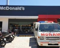MCDO LINGAYEN SA AYUDA PARA SA ATING MGA HEALTH AT EMERGENCY FRONTLINERS