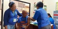 Mga empleyado ng LGU Lingayen, Sumailalim sa Libreng Flu Vaccination